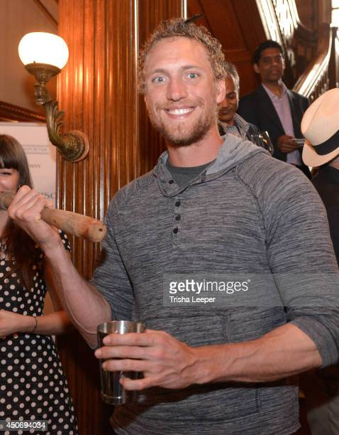 Giants Hunter Pence attends The Snowman Classic To Raise Money To Find A Cure For The Worst Form Of Diabetes at Hamlin Mansion on June 15 2014 in San...