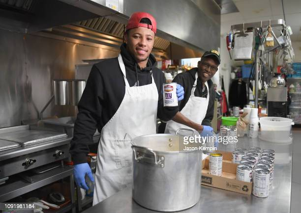 Giants' Saquon Barkley and Campbell's Chunky Soup Partner to Donate 100,000 Bowls of Soup to Atlanta Community Ahead of Super Bowl LIII at Crossroads...