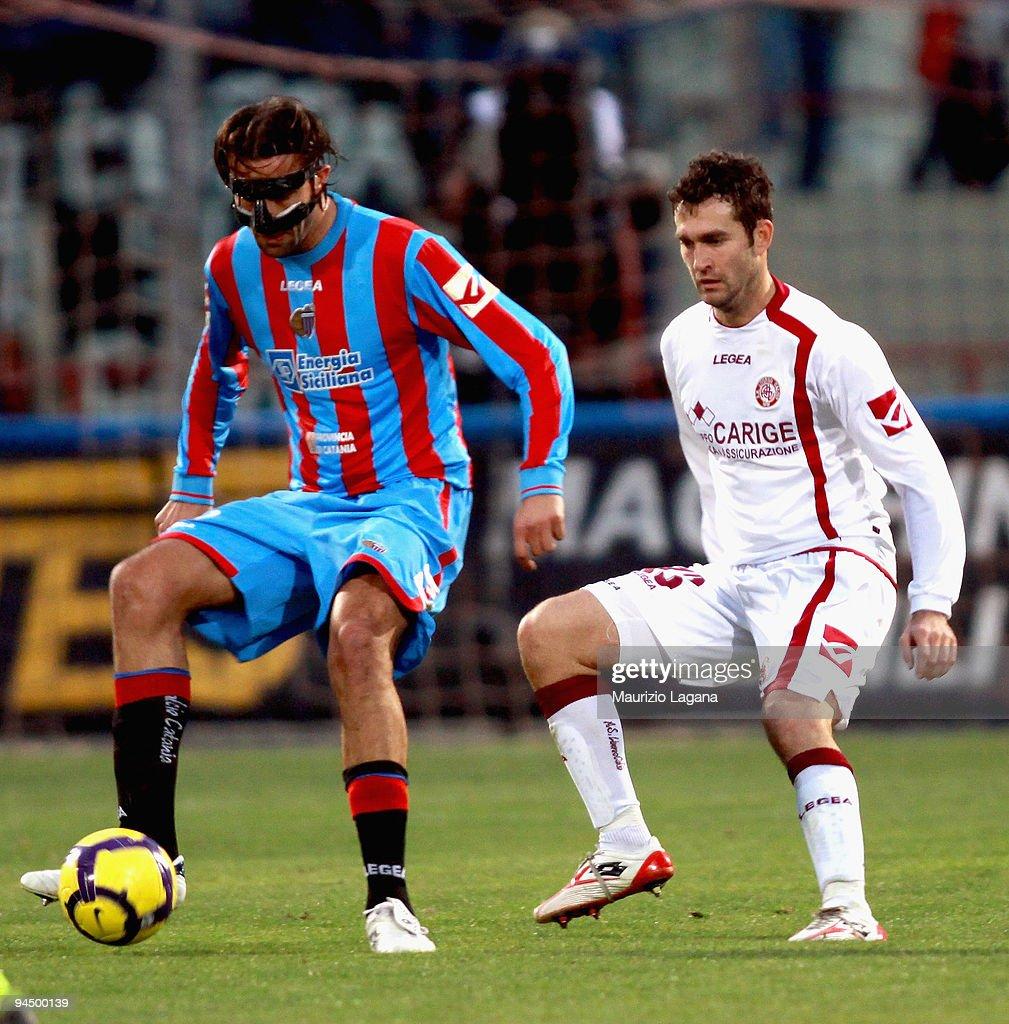 Catania Calcio v AS Livorno Calcio - Serie A