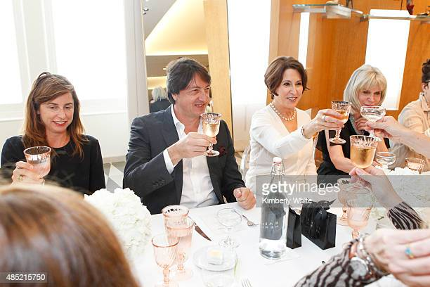 Gianvito Rossi at the Susan Atherton and Barneys New York private luncheon for Gianvito Rossi on August 25 2015 in San Francisco California