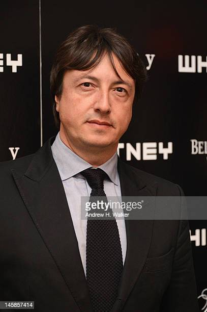 Gianvito Rossi attends 2012 WHITNEY ART PARTY Sponsored By Theory And Saks Fifth Avenue At Skylight Soho on June 6 2012 in New York City