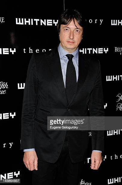 Gianvito Rossi attends the 2012 Whitney Art Party at Skylight SOHO on June 6 2012 in New York City