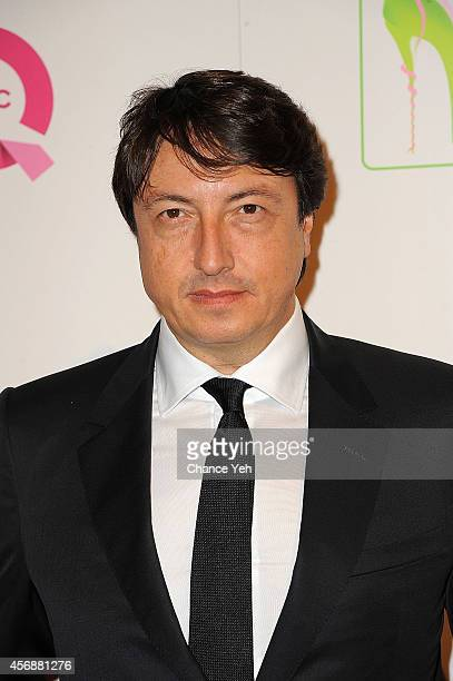 Gianvito Rossi attends the 2014 FFANY Shoes On Sale Gala at The Waldorf=Astoria on October 8 2014 in New York City