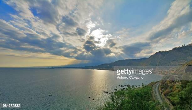 giardini naxos - sicily - giardini naxos stock pictures, royalty-free photos & images