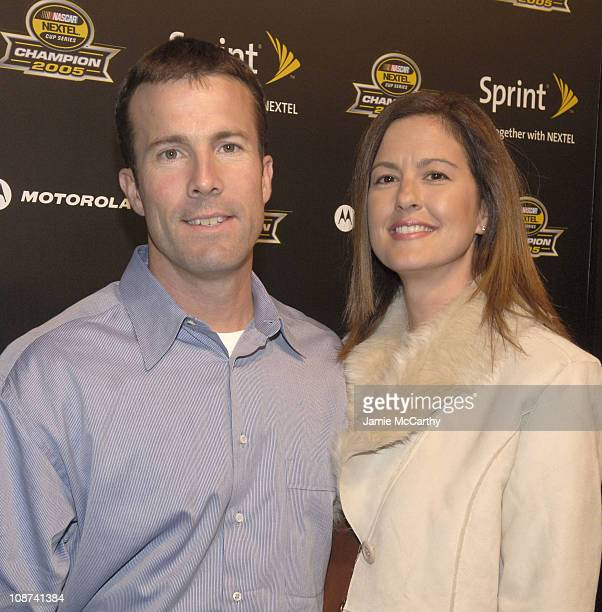 JD Gibbs and Melissa Gibbs during 2005 NASCAR Nextel Cup Series Champion's Party at Marquee Presented by Sprint at Marquee in New York City New York...