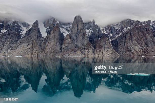 gibbs fiord - baffin island stock pictures, royalty-free photos & images