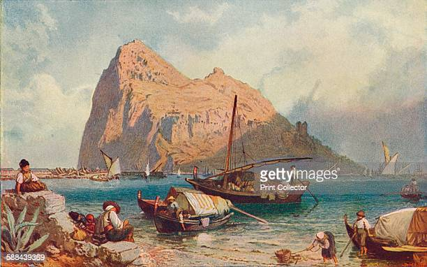 Gibraltar, 1905. From Cassell's History of England, Vol. IV,