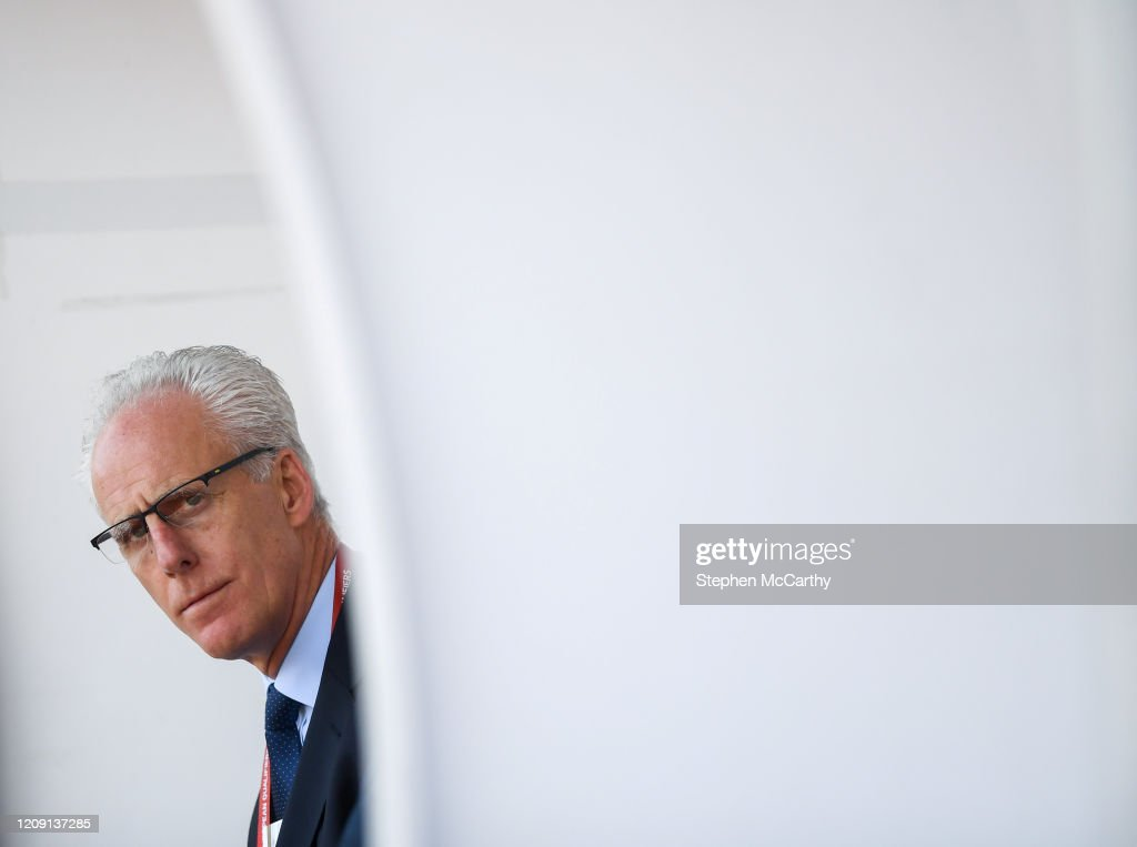 Mick McCarthy succeeded as Republic of Ireland manager : News Photo