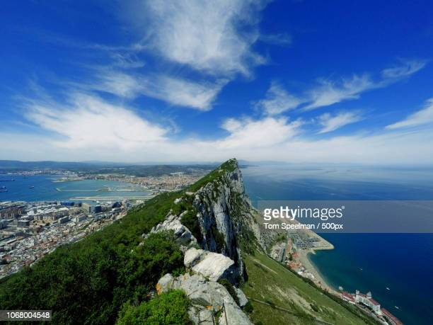 gibraltar, gibraltar - rock of gibraltar stock photos and pictures