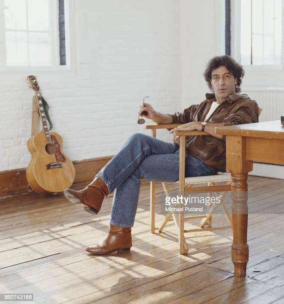 Gibraltar singersongwriter and record producer Albert Hammond 1989