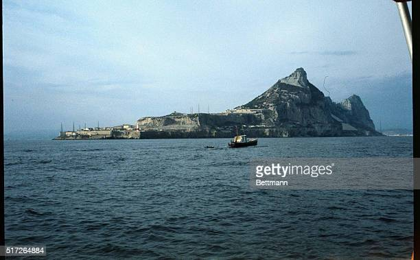 The famed Rock of Gibraltar is seen as it is approached from the Mediterranean sea Gibraltar has long as a British bastion in the area