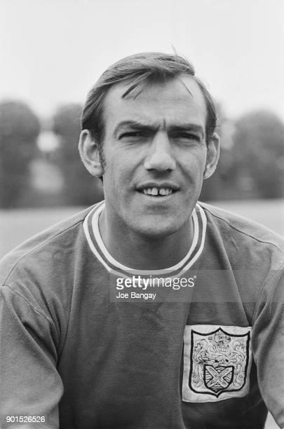 Gibraltarian goalkeeper Tony Macedo of Fulham FC UK 18th July 1968