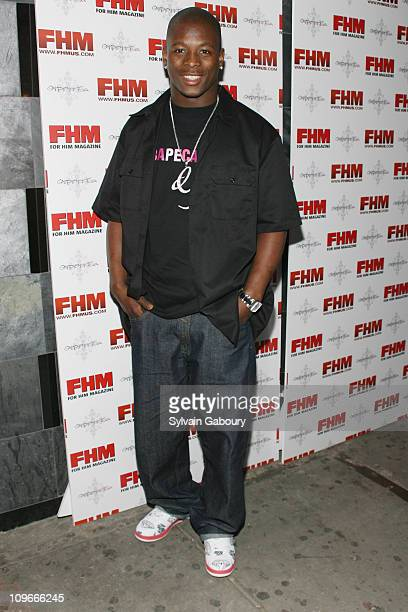 Gibril Wilson during FHM Party for the NFL Players Draft at Gypsy Tea in New York, NY, United States.