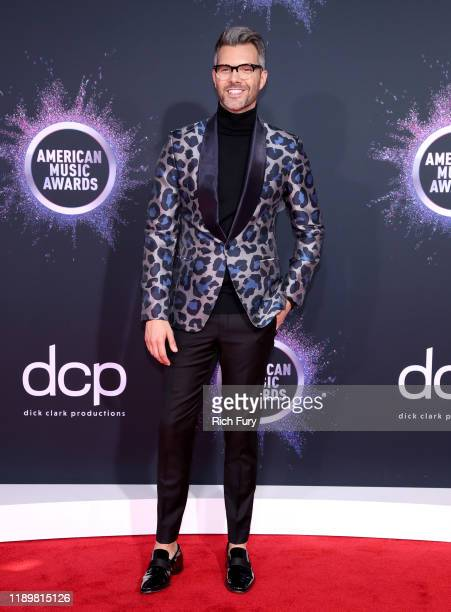 J Gibson attends the 2019 American Music Awards at Microsoft Theater on November 24 2019 in Los Angeles California