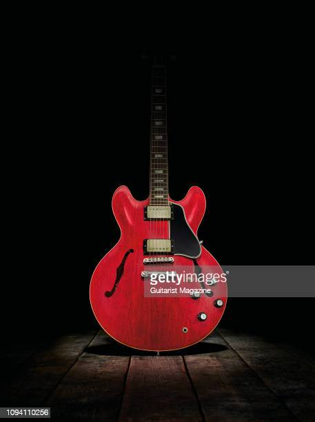 A Gibson ES335 electric guitar taken on May 25 2018
