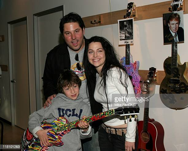 Gibson Guitar 'Paint for Pep' charity event in Beverly Hills United States on December 04 2004 Event host and Pediatric Epilepsy Project parent Greg...