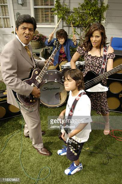 Gibson Guitar provided the cast of the ABC primetime hit show 'The George Lopez Show' all of their musical instruments for an upcoming episode George...