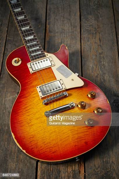 A Gibson Les Paul '58 Reissue electric guitar taken on May 20 2016
