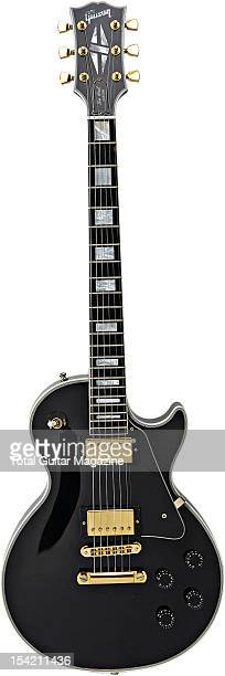 A Gibson Les Paul Custom electric guitar taken on May 21 2008