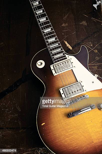 A Gibson Les Paul electric guitar taken on December 15 2014