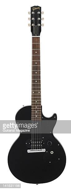 A Gibson Les Paul Melody Maker electric guitar During a studio shoot for Guitarist Magazine/Future via Getty Images May 25 2011