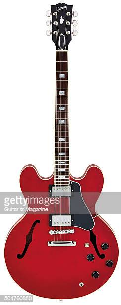 A Gibson Memphis ES335 Satin 2015 electric guitar taken on March 25 2015