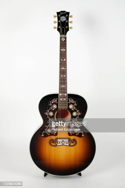 Gibson SJ-200 Bob Dylan Player's Edition acoustic guitar.