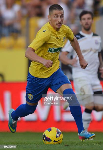 Gicu Grozav of FC Petrolul Ploiesti in action during the Romanian First Division match between FC Petrolul Ploiesti and FC Astra Ploiesti held on May...