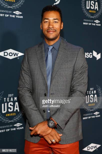 Giddeon Massie attends the 2017 Team USA Awards on November 29 2017 in Westwood California
