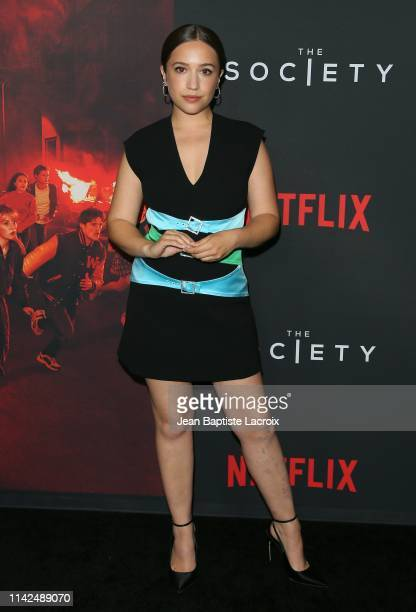 Gideon Adlon attends a special screening for Netflix's The Society Season 1 at Regal Cinemas LA Live on May 09 2019 in Los Angeles California
