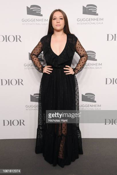 Gideon Adlon attends the 2018 Guggenheim International Gala PreParty made possible by Dior at Solomon R Guggenheim Museum on November 14 2018 in New...