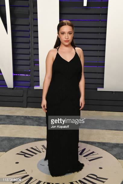 Gideon Adlon attends the 2019 Vanity Fair Oscar Party hosted by Radhika Jones at Wallis Annenberg Center for the Performing Arts on February 24 2019...