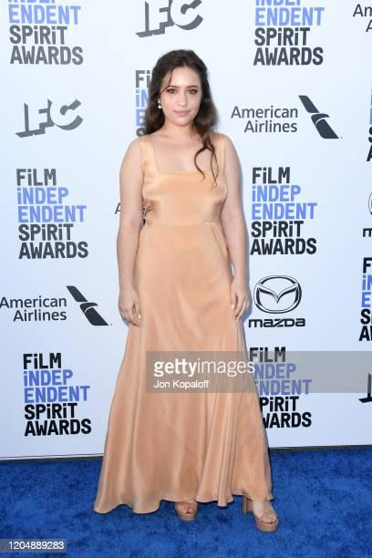 Gideon Adlon attends the 2020 Film Independent Spirit Awards on February 08 2020 in Santa Monica California