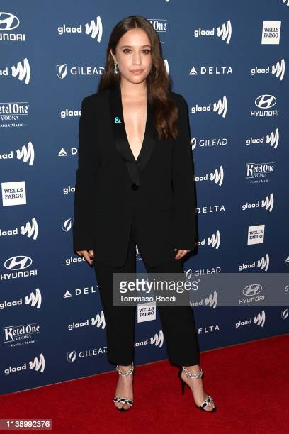 Gideon Adlon attends the 30th Annual GLAAD Media Awards at The Beverly Hilton Hotel on March 28 2019 in Beverly Hills California