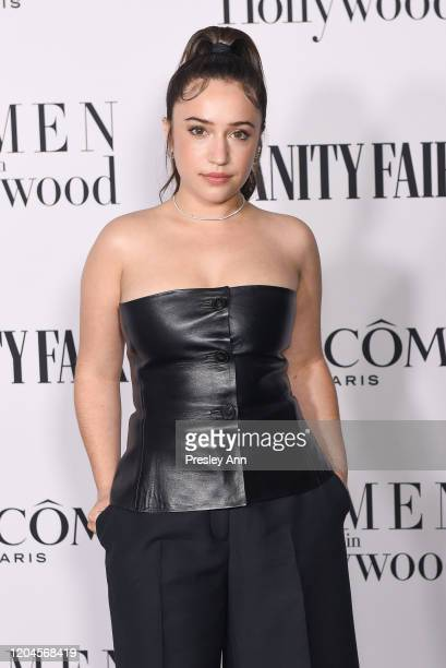 Gideon Adlon attends the Vanity Fair and Lancôme women in hollywood celebration at Soho House on February 06 2020 in West Hollywood California