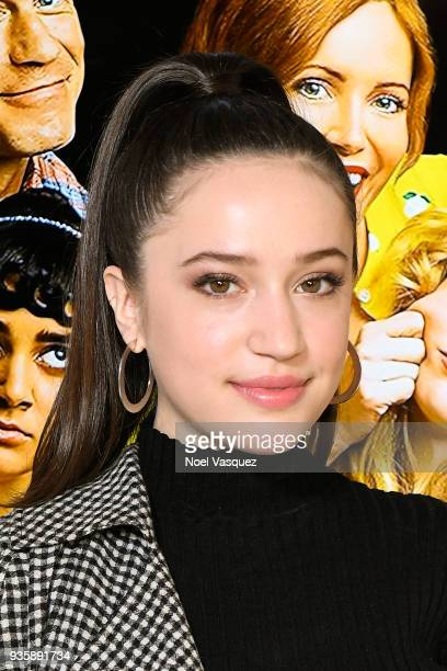 Gideon Adlon visits Extra at Universal Studios Hollywood on March 21 2018 in Universal City California