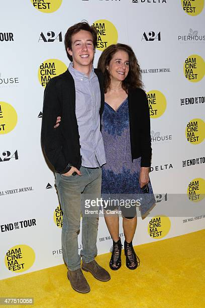 Gideon Babe Ruth Howard and Actress Debra Winger arrive for the BAMcinemaFest 2015 The End Of Tour opening night screening held at BAM Howard Gilman...