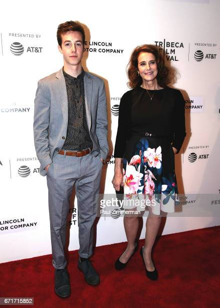 Gideon Babe Ruth Howard and Debra Winger attend the 2017 Tribeca Film Festival The Lovers at BMCC Tribeca PAC on April 22 2017 in New York City