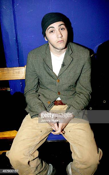 Gideon GrodyPatinkin during Def Poetry Jam February 24 2005 at The Supper Club in New York City New York United States
