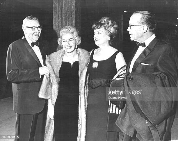 JAN 21 1965 JAN 22 1965 Gideon is Attraction at Bonfils Theater Mr and Mrs James Cryder left joined the Gail Irelands for dinner and the play at...