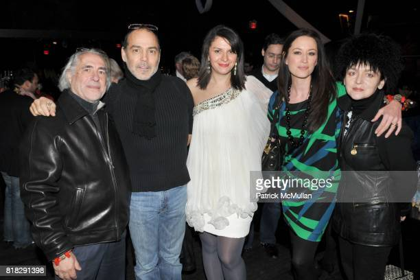Gideon Lewin Timothy White Mia Morgan Elicia Ho and Joanna Mastroianni attend HER NAME IS ZELDA An Evening Celebrating Ms ZELDA KAPLAN at 609 W 29th...