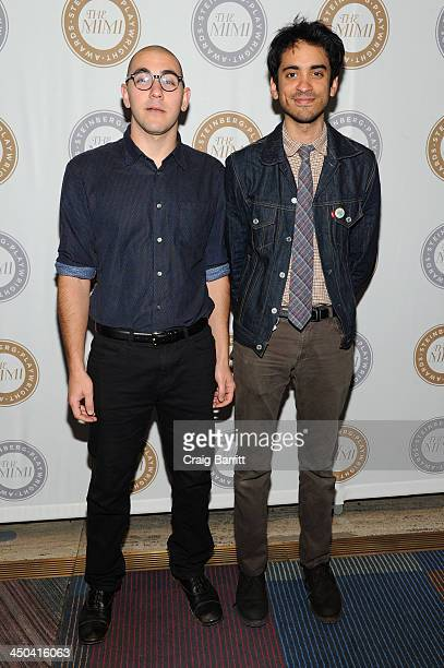 Gideon Patinkin and Raky Sastri attend The 2013 Steinberg Playwright Mimi Awards presented by The Harold and Mimi Steinberg Charitable Trust at...
