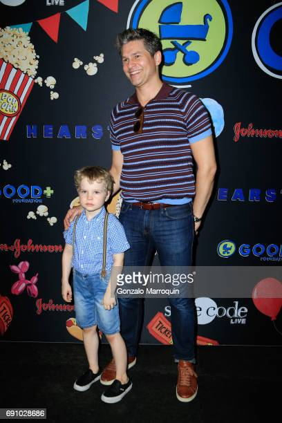 Gideon Scott BurtkaHarris and David Burtka attend the 2017 Good Foundation NY Bash at Victorian Gardens at Wollman Rink Central Park on May 31 2017...