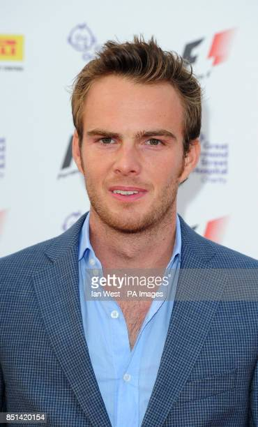 Giedo Van Der Garde arrives at the F1 Party in aid of Great Ormond Street Hospital Children's charity The party marks the official launch of the...