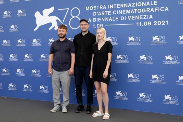 "ITA: ""Pilgrimai"" Photocall - The 78th Venice International Film Festival"