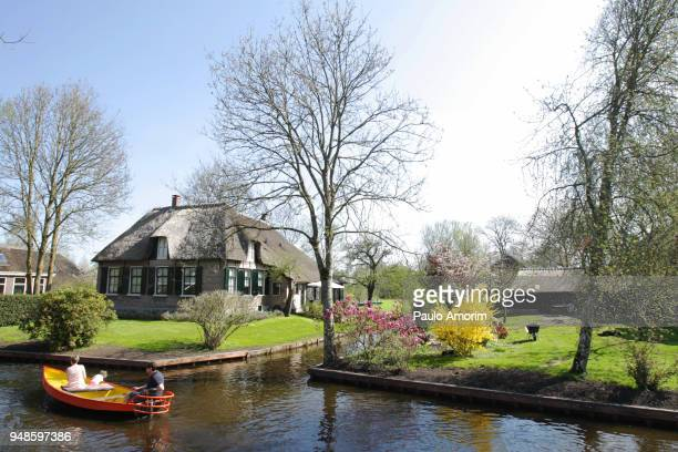 Giethoorn one of the most beautiful Dutch villages