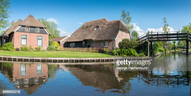 Giethoorn panorama, Netherlands