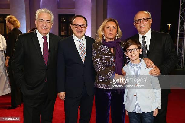 Giffoni Experience Board Member Luigi Notarfrancesco Giffoni Experience CEO Pietro Rinaldi Councillor of Campania Region Caterina Miraglia and...