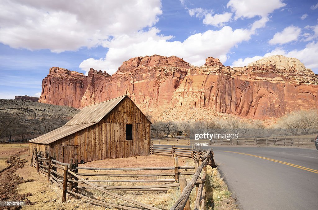 Gifford Farm at Capitol Reef National Park : Stock-Foto