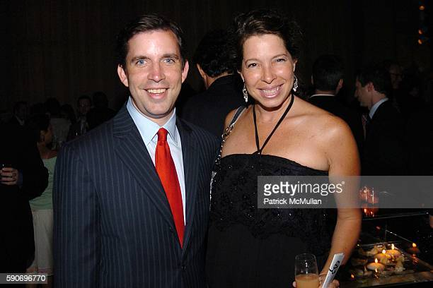 Gifford Miller and Anne Pasternak attend Friends of the High Line 5th Annual Summer Benefit at Cipriani Wall Street on July 13 2005 in New York City